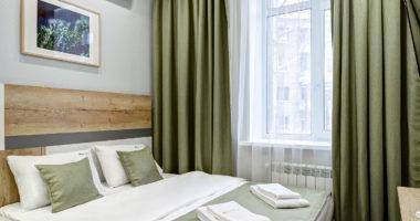 Комфорт двухместный с одной большой кроватью